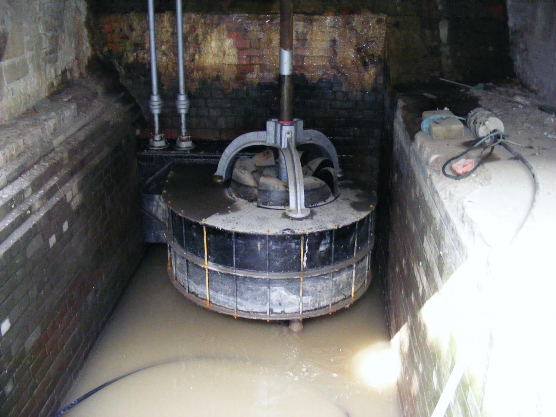 "Remanufactured Armfield ""British Empire"" Francis turbine"